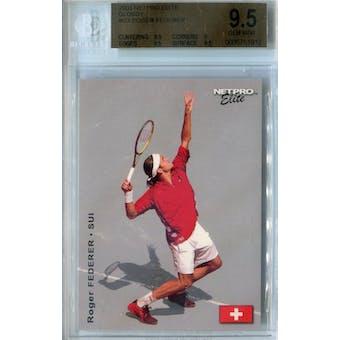 2003 Netpro Elite Glossy Tennis #G3 Roger Federer BGS 9.5 (Gem Mint) *1912 (Reed Buy)