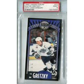 1993 Lakers Forum Hockey #10 Wayne Gretzky PSA 9 (Mint) *5404 (Reed Buy)