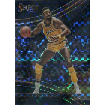 2017/18 Select Prizms Black Basketball #295 Wilt Chamberlain 1/1 (Reed Buy)