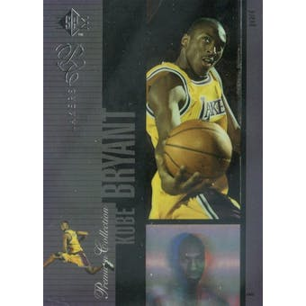 1996/97 SP Holoviews Basketball #PC18 Kobe Bryant (Reed Buy)