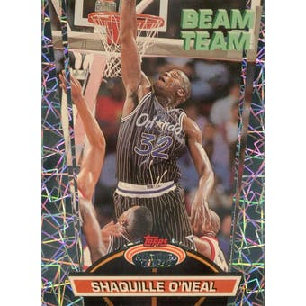 1992/93 Stadium Club Beam Team Basketball #21 Shaquille O'Neal (Reed Buy)