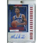 2017/18 Donruss Rookie Dominators Signatures Gold Basketball Markelle Fultz #/10 (Reed Buy)