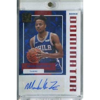 2017/18 Donruss Rookie Dominators Signatures Gold Basketball Markelle Fultz #/10 (Reed Buy)