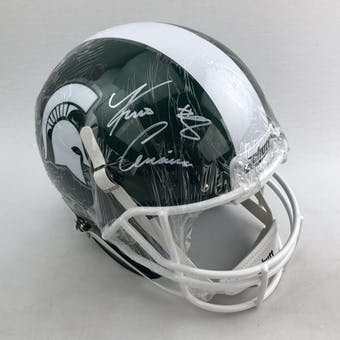 Kirk Cousins Autographed Michigan State Spartans Full Size Replica Helmet (Beckett COA)