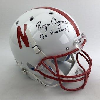 Roger Craig Autographed Nebraska Cornhuskers Full Size Replica Helmet (JSA COA)