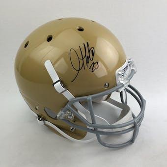 Golden Tate Autographed Notre Dame Irish Full Size Replica Helmet (Beckett COA)