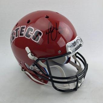 Marshall Faulk Autographed San Diego State Aztecs Full Size Replica Helmet (JSA COA)