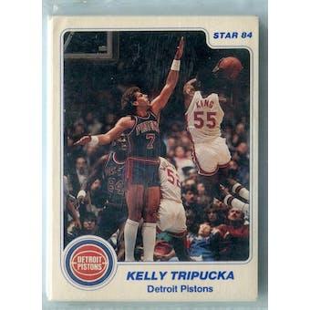 1983/84 Star Basketball Detroit Pistons 12 Card Set (Reed Buy)