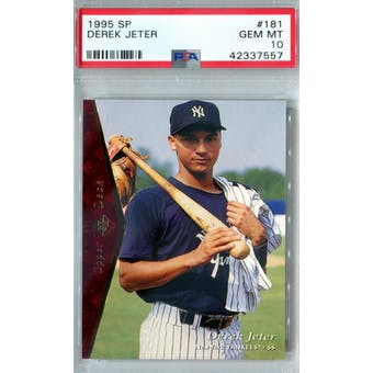 1995 Upper Deck SP Baseball #181 Derek Jeter PSA 10 (GM-MT) *7557 (Reed Buy)