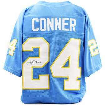 James Connor Autographed Pittsburgh Panthers Custom Football Jersey (JSA COA)