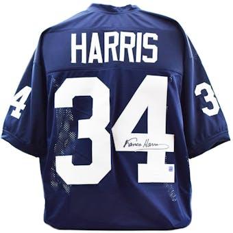 Franco Harris Autographed Penn State Custom Football Jersey (DACW COA)