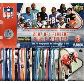 2007 Upper Deck Rookie Premiere Football Hobby Set (Box)