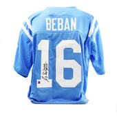 Gary Beban Autographed UCLA  Custom Football Jersey (DACW COA)