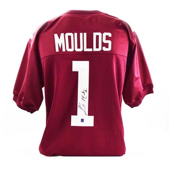 Eric Moulds Autographed Mississippi State Custom Football Jersey (DACW COA)