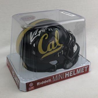 Keenan Allen Autographed California Bears Mini Helmet (Fanatics COA)