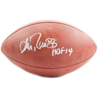 Andre Reed Autographed Buffalo Bills DUKE NFL Football (JSA COA)