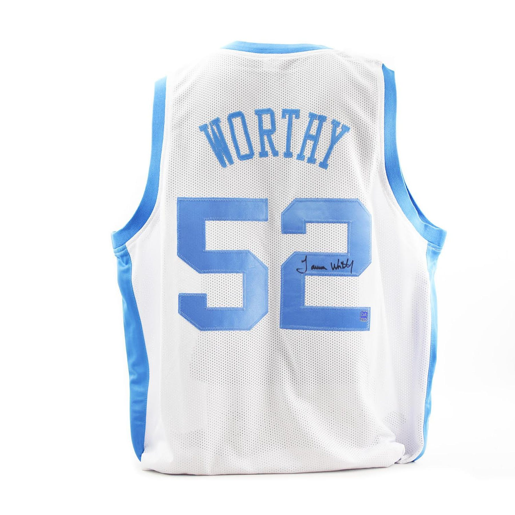 half off de6cf 8c99e James Worthy Autographed North Carolina Tar Heels Custom Basketball Jersey  (DACW COA)