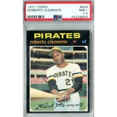 1971 Topps Baseball #630 Roberto Clemente PSA 7.5 (NM+) *8654 (Reed Buy)