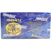 1995/96 Pinnacle Hockey Hobby Box (Reed Buy)