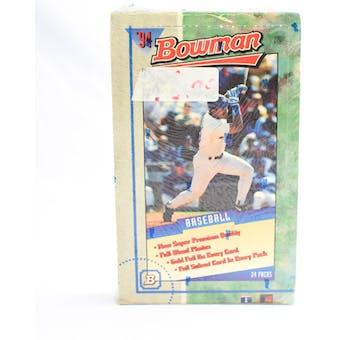 1994 Bowman Baseball Hobby Box (Reed Buy)