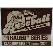 1984 Topps Traded & Rookies Baseball Factory Set (Reed Buy)