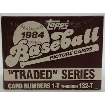 1984 Topps Traded & Rookies Baseball Factory Set (Reed Buy)