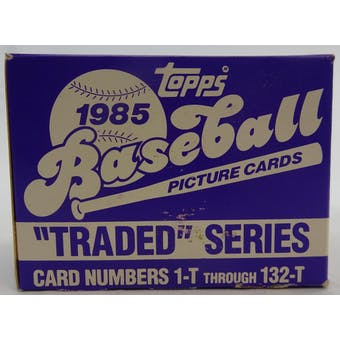 1985 Topps Traded & Rookies Baseball Factory Set (Reed Buy)