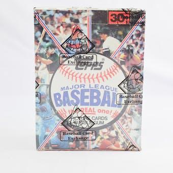1981 Topps Baseball Wax Box (BBCE) (Reed Buy)