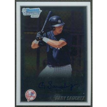 2010 Bowman Chrome #BCP207 Gary Sanchez Prospects Rookie Auto