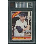 1966 Topps Baseball #50 Mickey Mantle BGS 8.5 (NM-MT+)