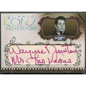 2008 Americana Celebrity Cuts #WN Wayne Newton Hollywood Icons Signature Cuts Auto #24/30