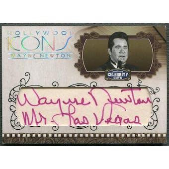 2008 Americana Celebrity Cuts #WN Wayne Newton Hollywood Icons Signature Cuts Auto #24/30