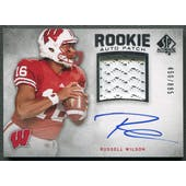 2012 SP Authentic #272 Russell Wilson Rookie Patch Auto #450/885
