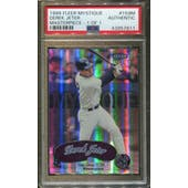 1999 Fleer Mystique Masterpiece #159M Derek Jeter STAR 1/1 PSA Authentic