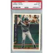 1995 Topps Baseball #199 Derek Jeter PSA 10 (GM-MT) *2421 (Reed Buy)