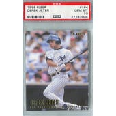 1996 Fleer Baseball #184 Derek Jeter PSA 10 (GM-MT) *3904 (Reed Buy)