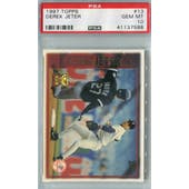 1997 Topps Baseball #13 Derek Jeter PSA 10 (GM-MT) *7588 (Reed Buy)