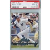 2006 Fleer Ultra Baseball #174 Derek Jeter PSA 10 (GM-MT) *5409 (Reed Buy)