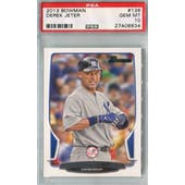 2013 Bowman Baseball #136 Derek Jeter PSA 10 (GM-MT) *6634 (Reed Buy)