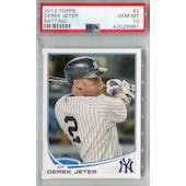 2013 Topps Baseball #2 Derek Jeter PSA 10 (GM-MT) *8981 (Reed Buy)