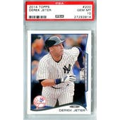 2014 Topps Baseball #200 Derek Jeter PSA 10 (GM-MT) *3914 (Reed Buy)