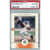 2000 Upper Deck SP Authentic Baseball #20 Cal Ripken Jr PSA 10 (GM-MT) *3363 (Reed Buy)