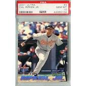 2001 Fleer Ultra Baseball #3 Cal Ripken Jr PSA 10 (GM-MT) *0104 (Reed Buy)
