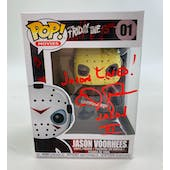 Friday the 13th Jason Voorhees Funko POP Autographed by C.J. Graham