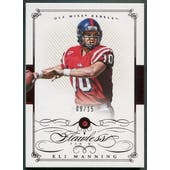 2015 Panini National Treasures Collegiate Multisport #51 Eli Manning Flawless Ruby #09/15