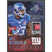 2015 Gridiron Kings #MOGOBJ Odell Beckham Jr. Masters of the Game Laundry Tag #1/1