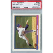 1991 Bowman Baseball #280 Nolan Ryan PSA 10 (GM-MT) *7011 (Reed Buy)