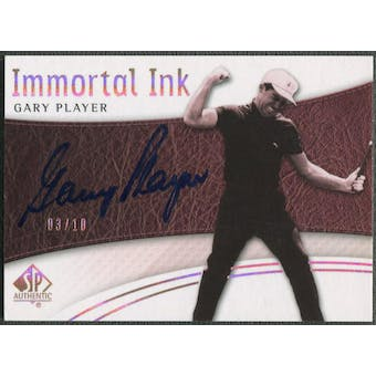 2014 SP Authentic #IIGP Gary Player Immortal Ink Auto #03/10
