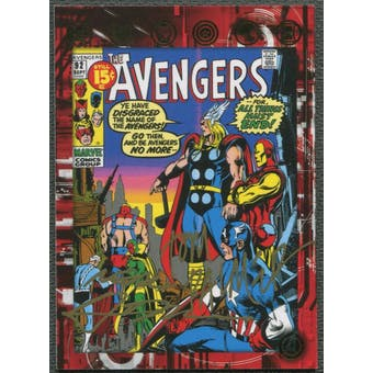 2015 Avengers Age of Ultron #AOUAP Tom Palmer & Neal Adams Comic Cover Auto