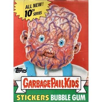 Garbage Pail Kids Series 10 Wax Box (1985-88 Topps)
